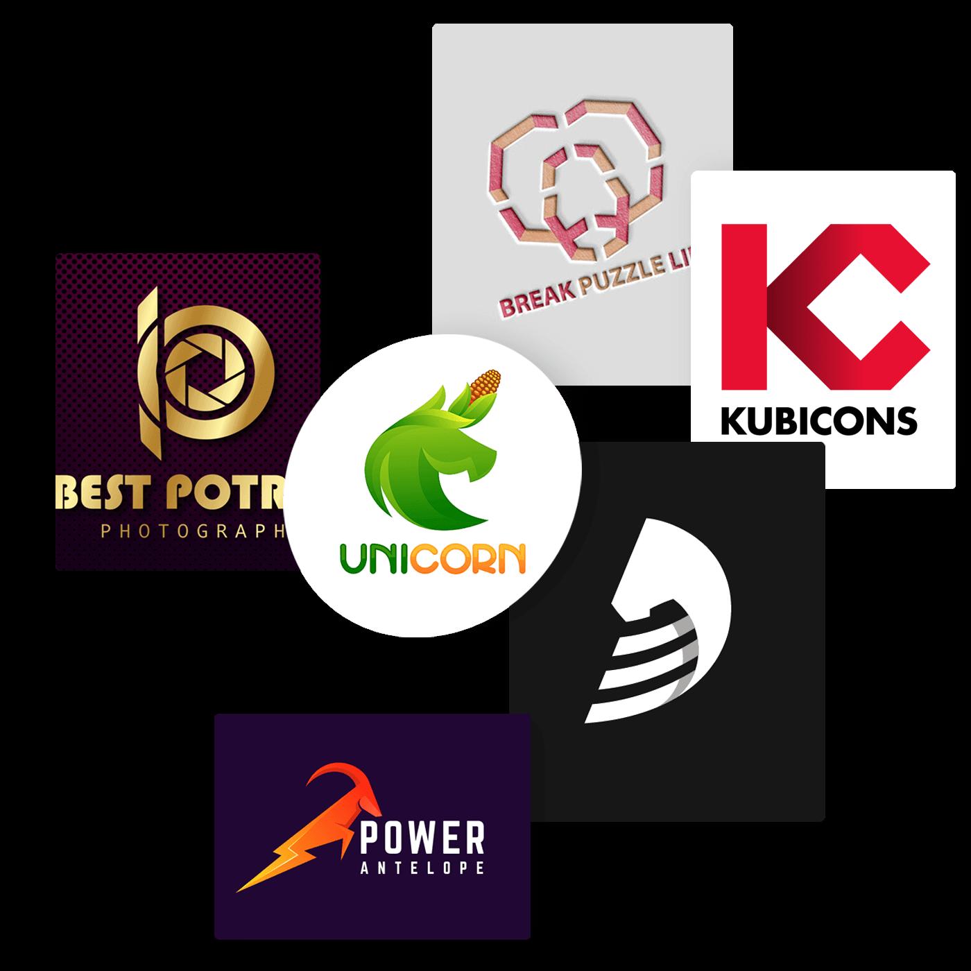 Combination mark logo design - icreativesol