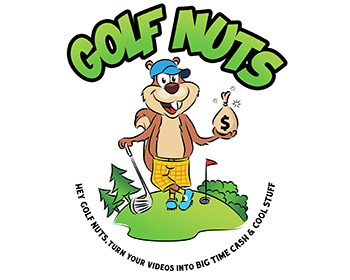 Golf-Nuts - sports logo design - icreativesol