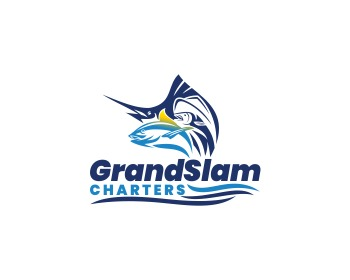 GrandSlam - sports logo design - icreativesol