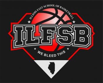 Illioisbasketball - sports logo design - icreativesol