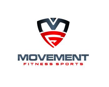 MOVEMENT - sports logo design - icreativesol