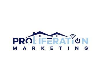 Proliferation - technology logo design - icreativesol