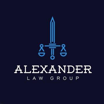 alexander - law firm logo design - icreativesol