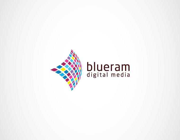 blueram - entertainment logo design - icreativesol