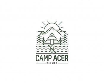 camp - travel logo design - icreativesol