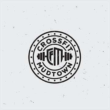 crossfit - fitness logo design - icreativesol