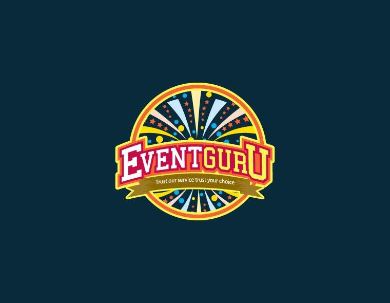 eventguru - entertainment logo design - icreativesol