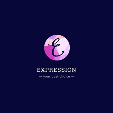 expression - engineering logo design - icreativesol