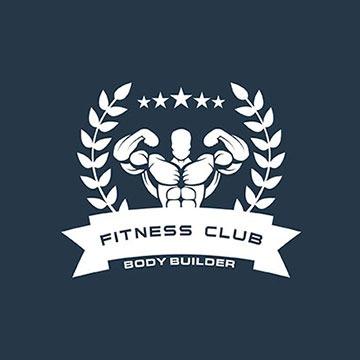 fitnessclub - fitness logo design - icreativesol
