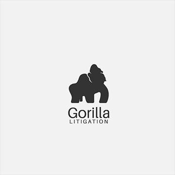 gorilla - law firm logo design - icreativesol