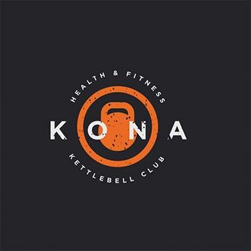kona - fitness logo design - icreativesol
