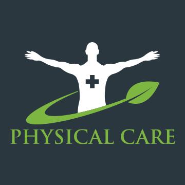physical - healthcare logo design - icreativesol