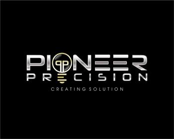 pioneer - technology logo design - icreativesol