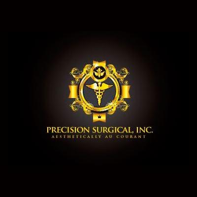 precision - healthcare logo design - icreativesol
