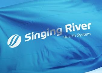 river - medical logo design - icreativesol