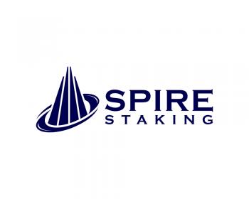 spire - technology logo design - icreativesol