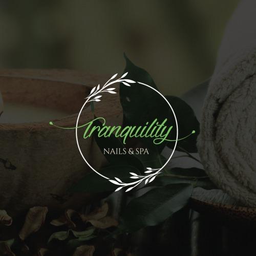 tranquality - spa logo design company - icreativesol