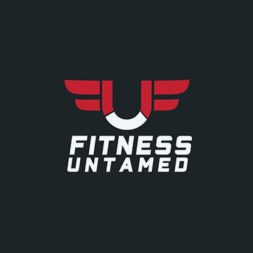 untamed - fitness logo design - icreativesol