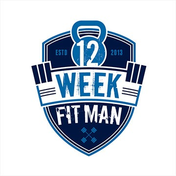 week - fitness logo design - icreativesol